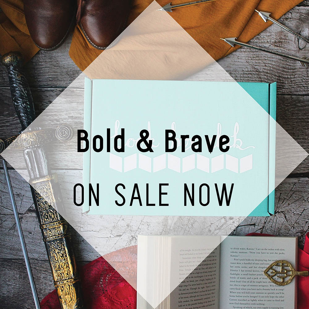Bold and Brave on Sale Now